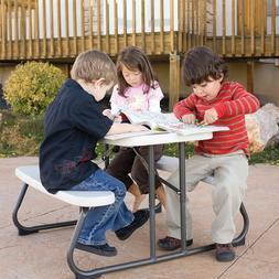 Lifetime Kids Folding Picnic Table - Almond
