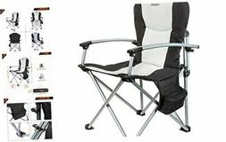 KingCamp Camping Chair Heavy Duty Folding Oversize Padded Di