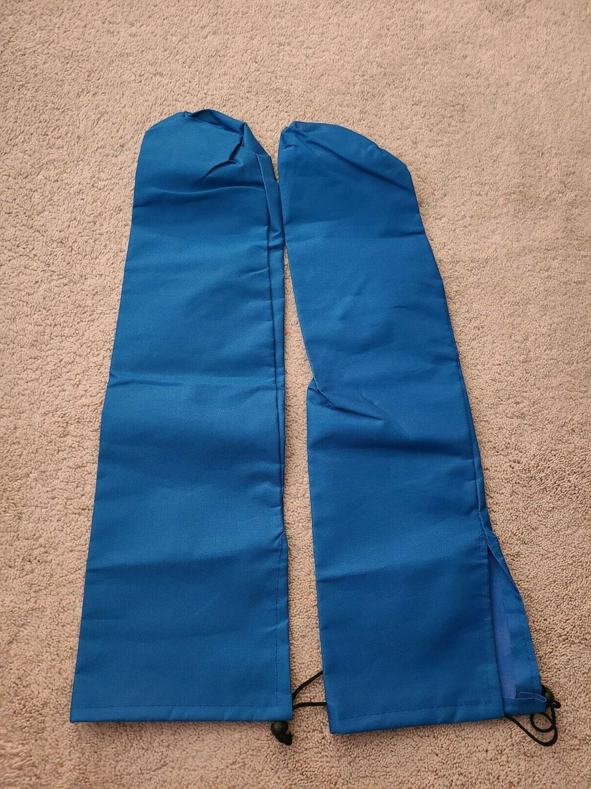 2 Blue Carrying Bags X size. For folding chairs