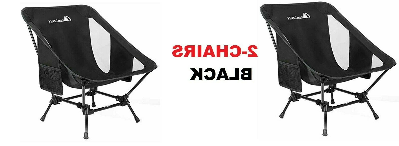 2 pack backpacking camping outdoor chair lightweight