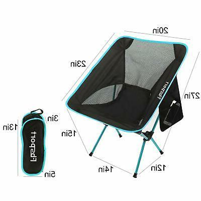 FBSPORT Pack Folding Camping Backpack Chair Compact Heavy Dut...