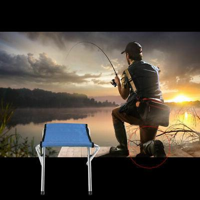 2 PCs Folding Stool BBQ Beach Seat