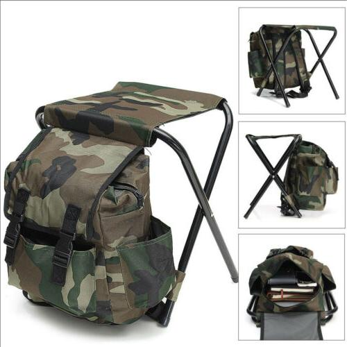 2in1 outdoor fishing tackle backpack bag camping