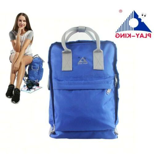 2in1 Portable Backpack Bag Camping Stool Seat Chair