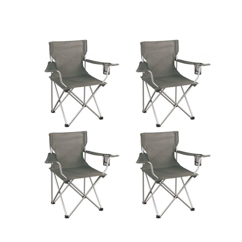 4 Heavy Duty Camp Seat Camping 225LBS