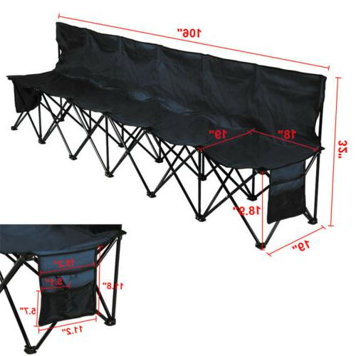 6 Seats Chair Camping Bench