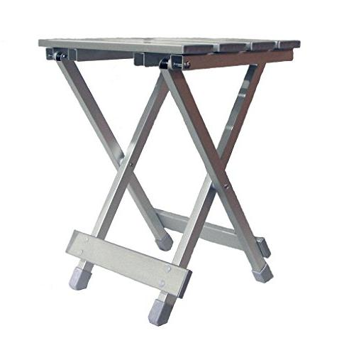 TravelChair Table, and Aluminum
