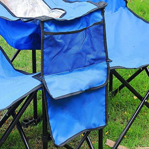 Yescom Double Folding w Cooler Fold Up Beach