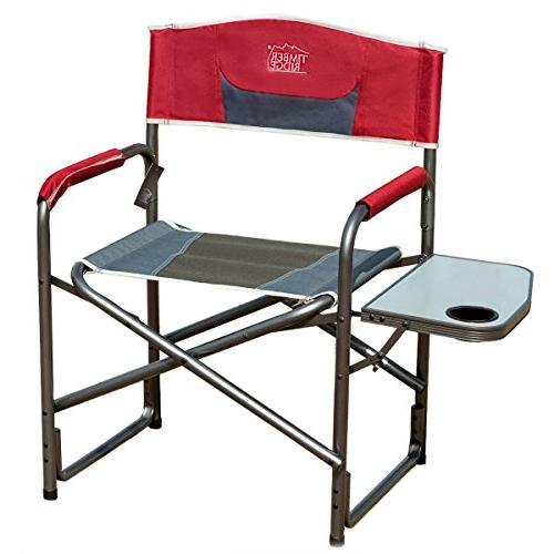 Timber Ridge Director S Chair Folding Aluminum Camping