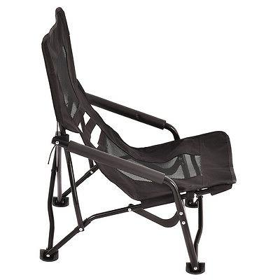 Outdoor High Back Folding Beach Chair Portable Seat