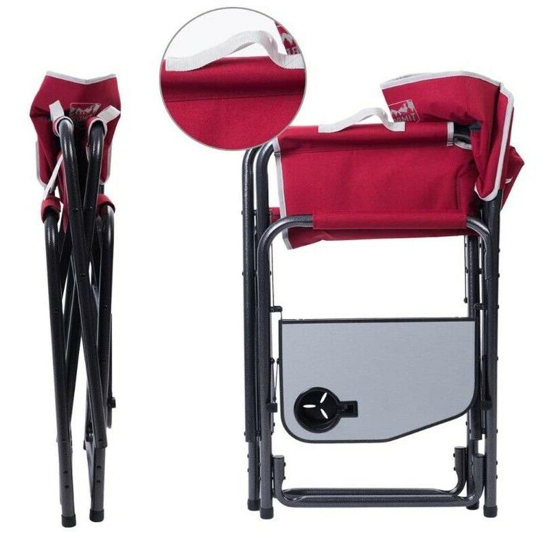 beach camping garden chair by red colour