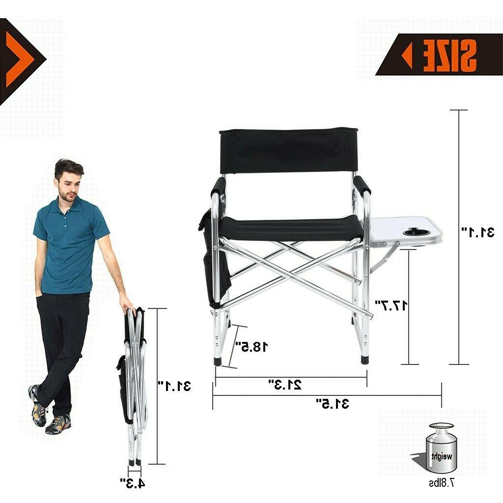 Heavy Steel Folding Director Table