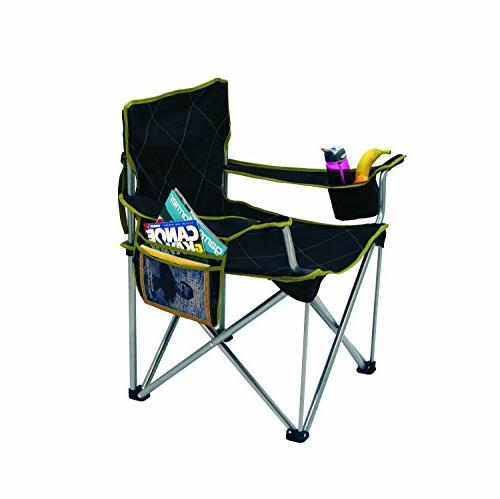 TravelChair Big Kahuna Supersized Chair, 800lb Capacity, Black