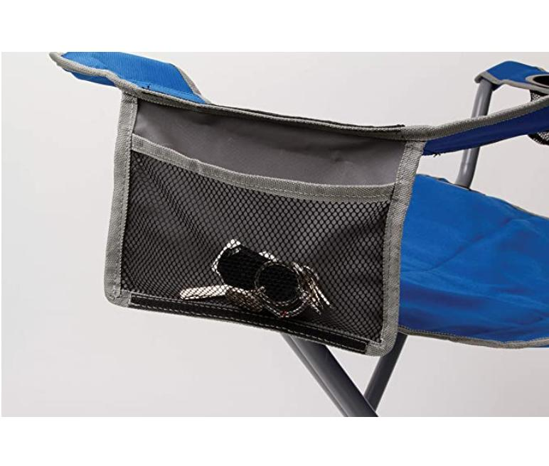 Coleman Quad Chair-Blue/Grey Camping Fits Upto