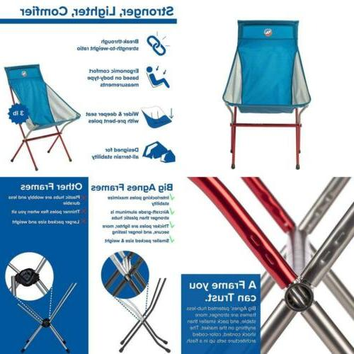Big Six Camp Chair High & Wide Camping Chair with Aircraft A