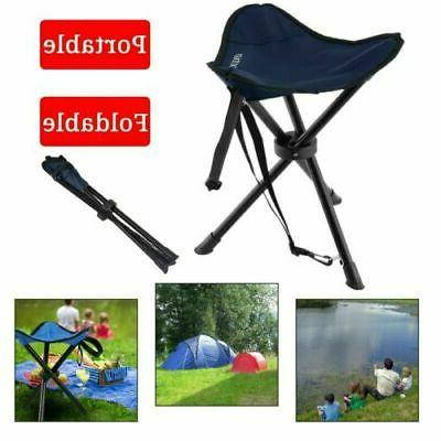 Slacker Chair Folding Portable Travel Tripod Stool Outdoor C