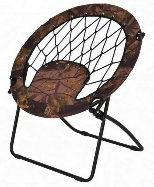 Bungee Chairs For Adults Saucer Round Folding Steel