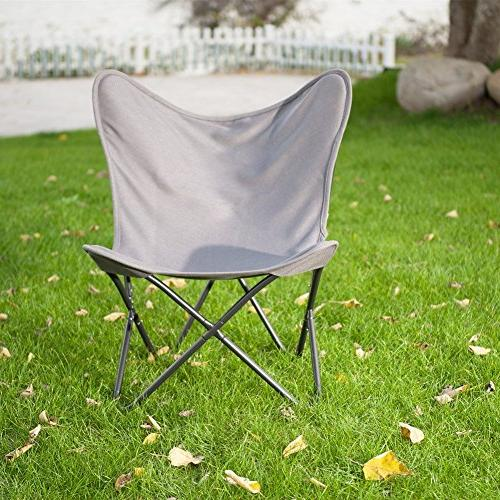 PatioPost Chair with Sturdy Metal and Removable Cover Balcony Home Furniture Room|Home,