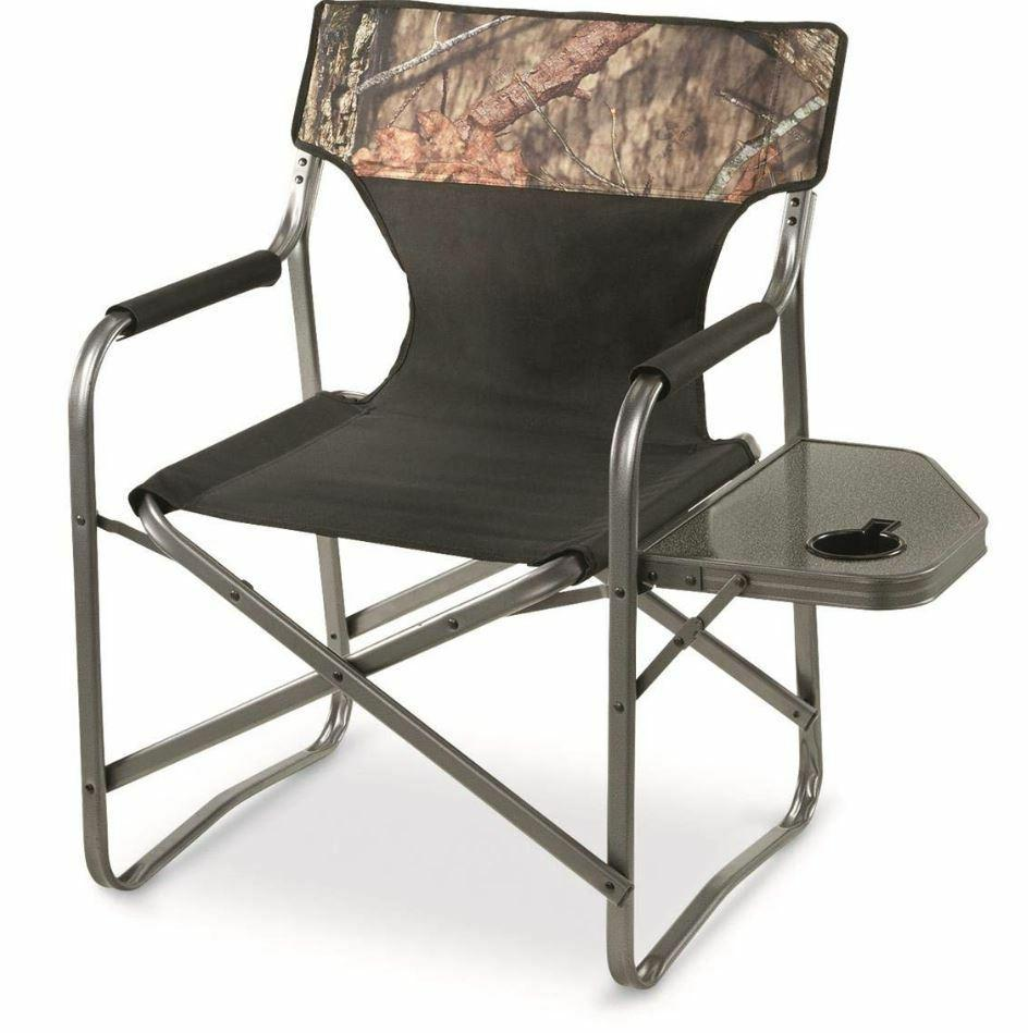 Camo Directors Chair Camp Chairs For Adults XL Oversized Por