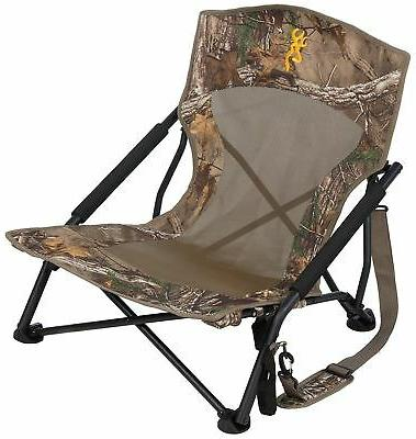 Camo Hunting Chair Blind Folding Seat Camping Outdoor Turkey