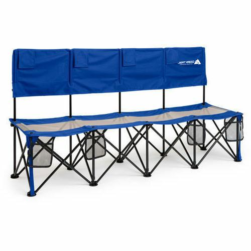 Camping Bench Chair 4 Person Bag