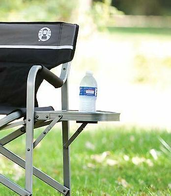 Coleman Side Table | Outdoor Chair with Flip Up