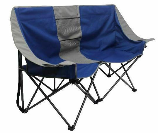 Camping Chair Loveseat Outdoor Bench
