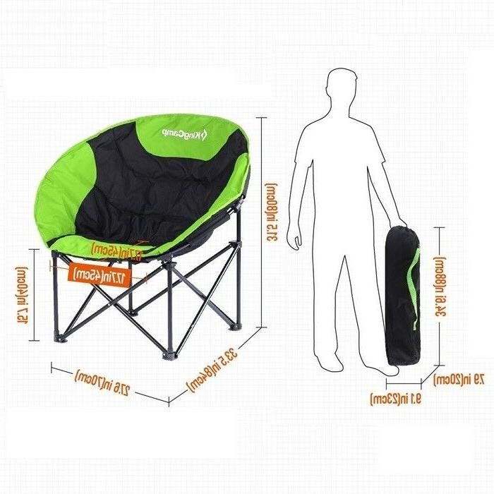 Camping Chair, Padded Carry