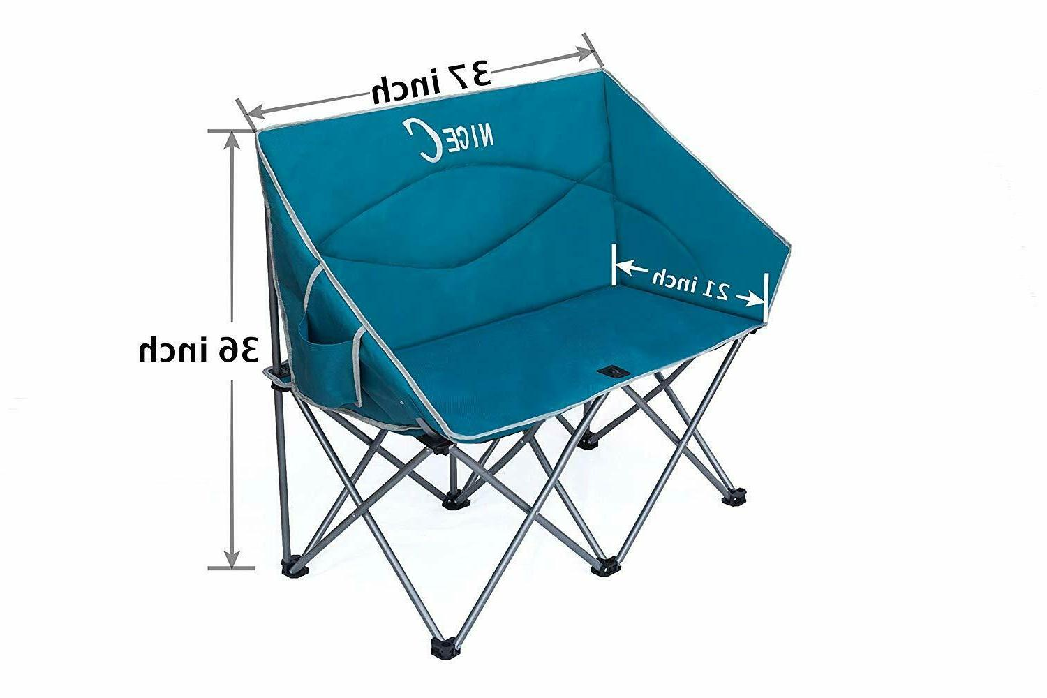 Camping Loveseat Person Conversation Lounge Outdoor