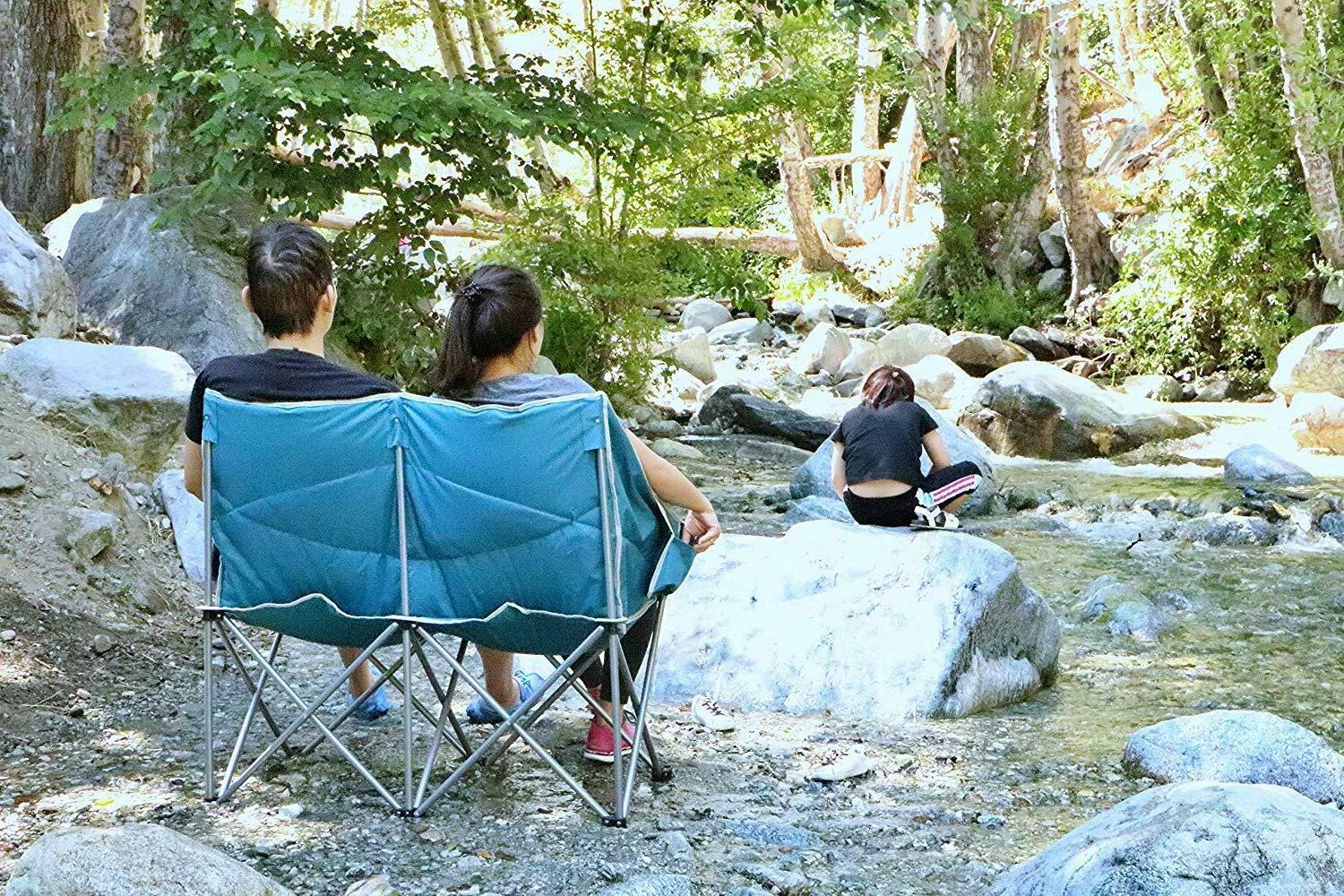 Camping Dual Person Conversation Chair Camping Outdoor