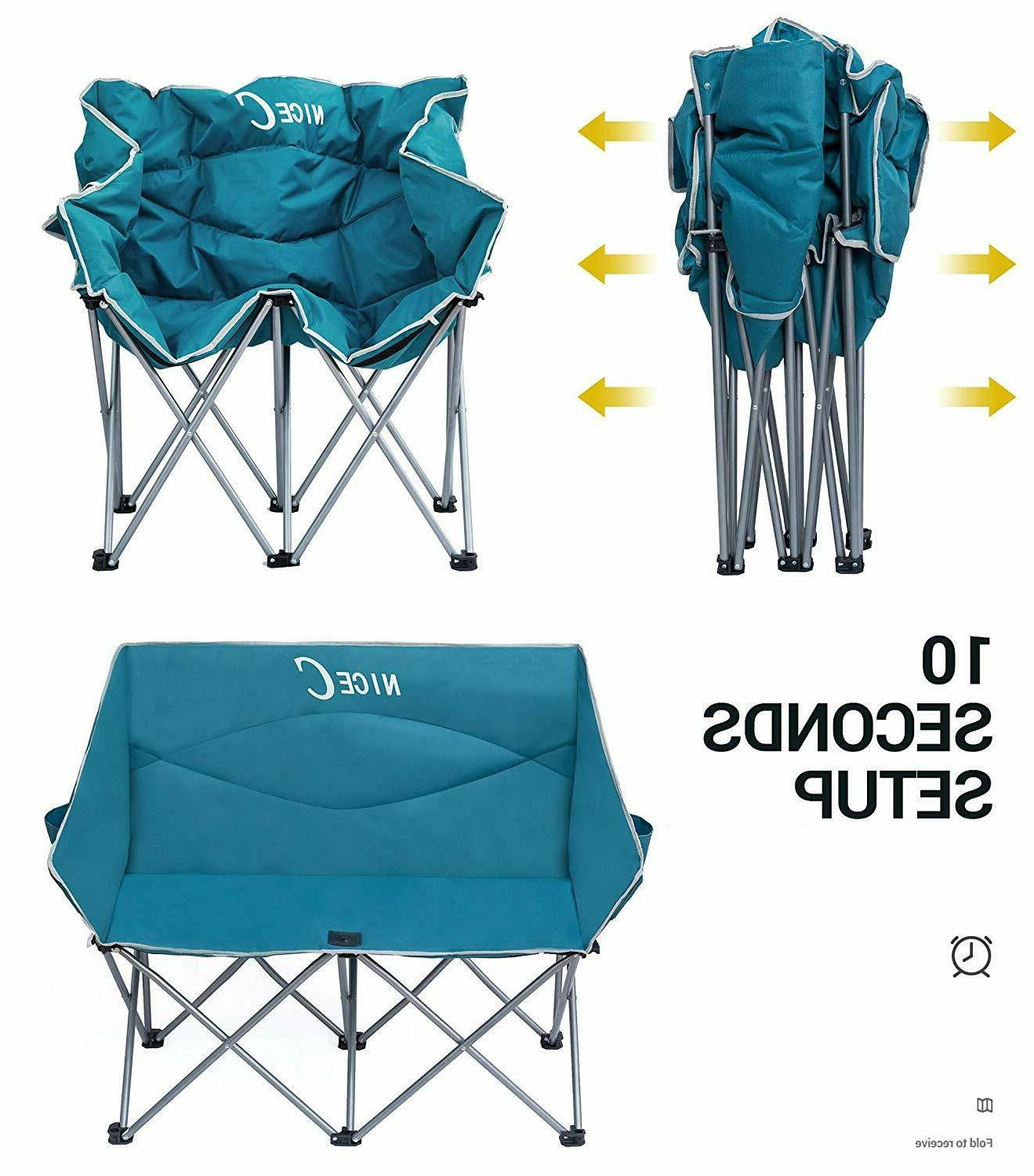 Camping Conversation Chair Outdoor