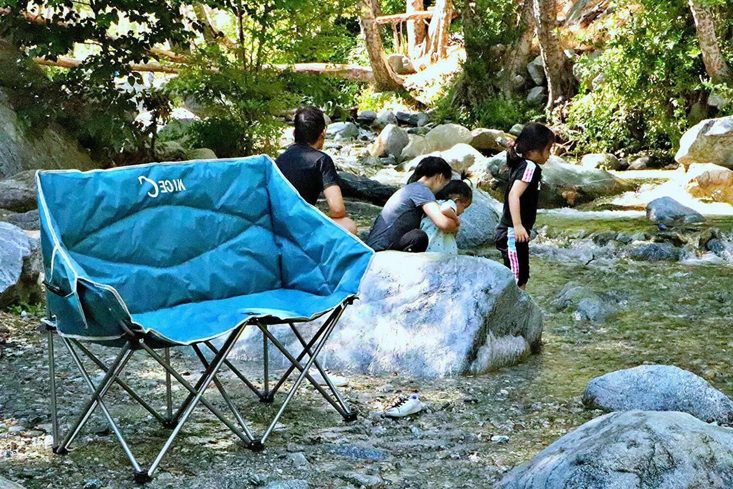 Camping Loveseat Dual Conversation Lounge Outdoor