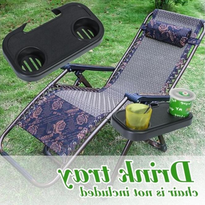 Portable Folding Outdoor Beach Garden Side Tray For
