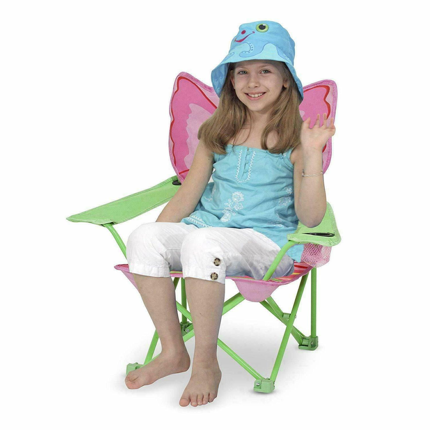 Camping Butterfly Seat Folding Lawn 3+ Years