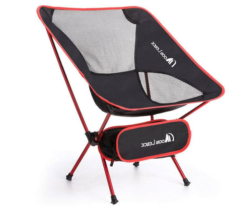 camping ultralight portable folding chair with carry