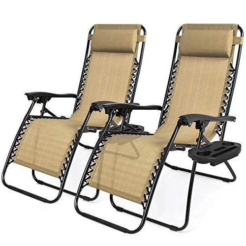 choiceproducts zero gravity chairs tan