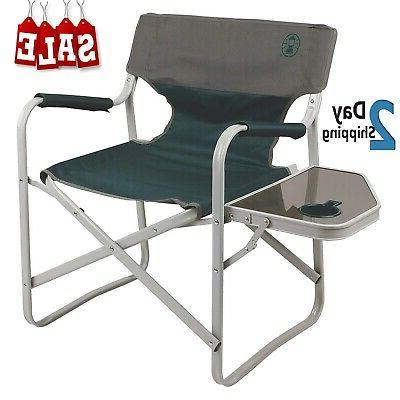 coleman camping chair outpost breeze portable folding