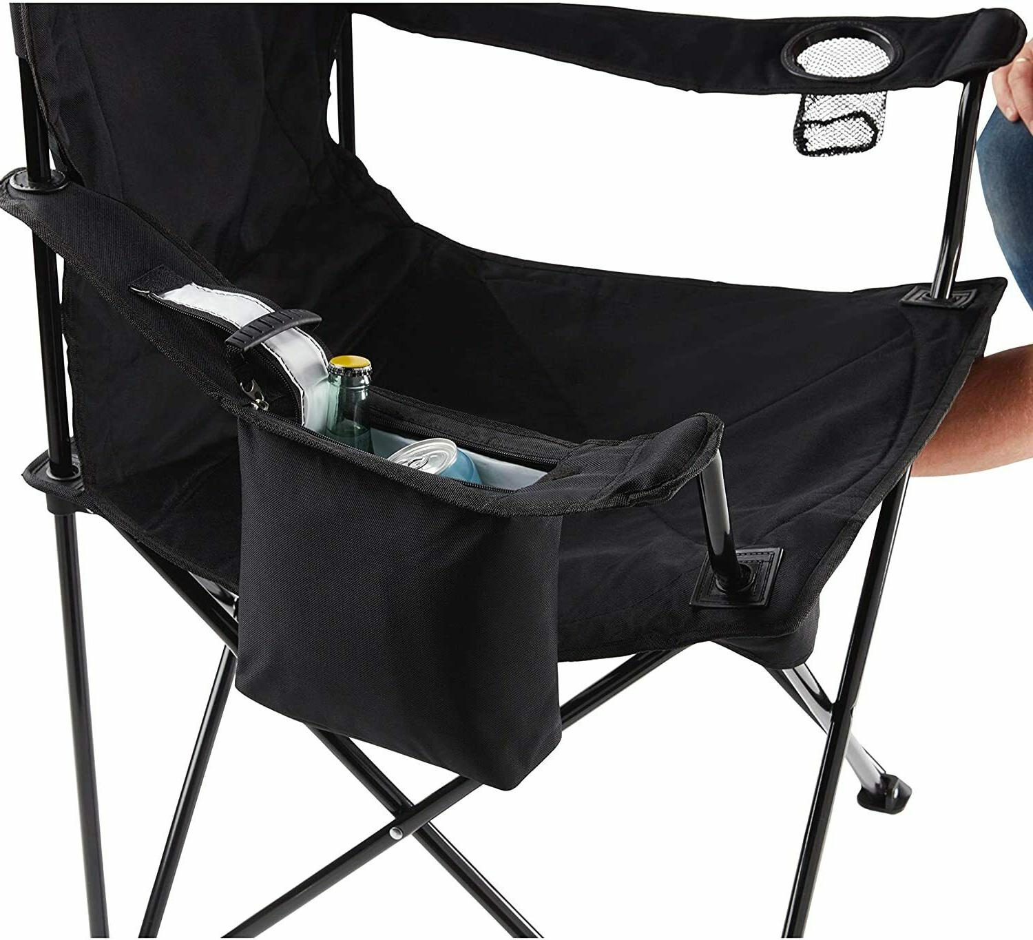 Portable Camping Mesh Camping Chair Heavy