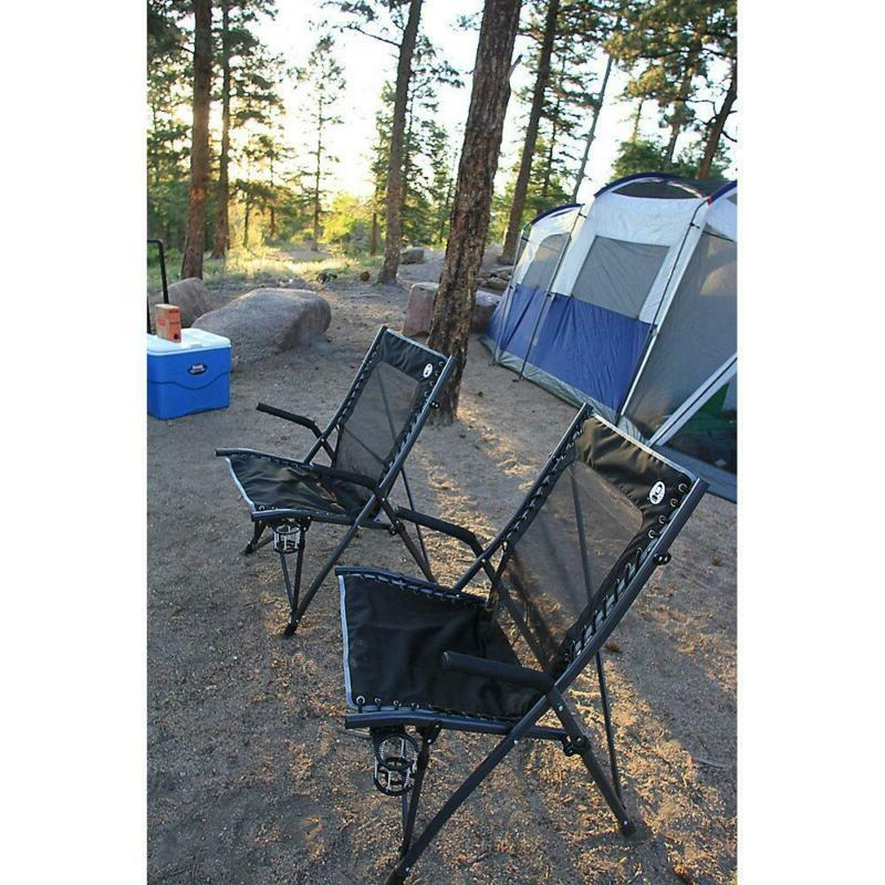 Comfortsmart Suspension Camping with Flexible Cooling Mesh Back