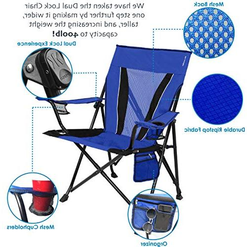 Kijaro XXL Dual Lock Portable Sports Chair