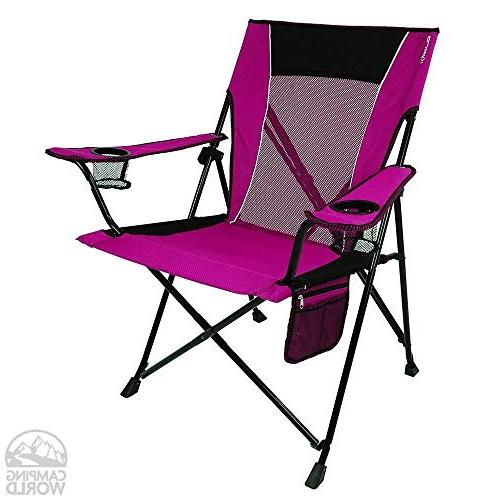 Kijaro Dual Portable Camping and Chair