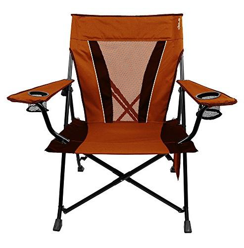 dual lock portable camping chair