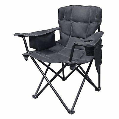 elite quad outdoor camping chair with built