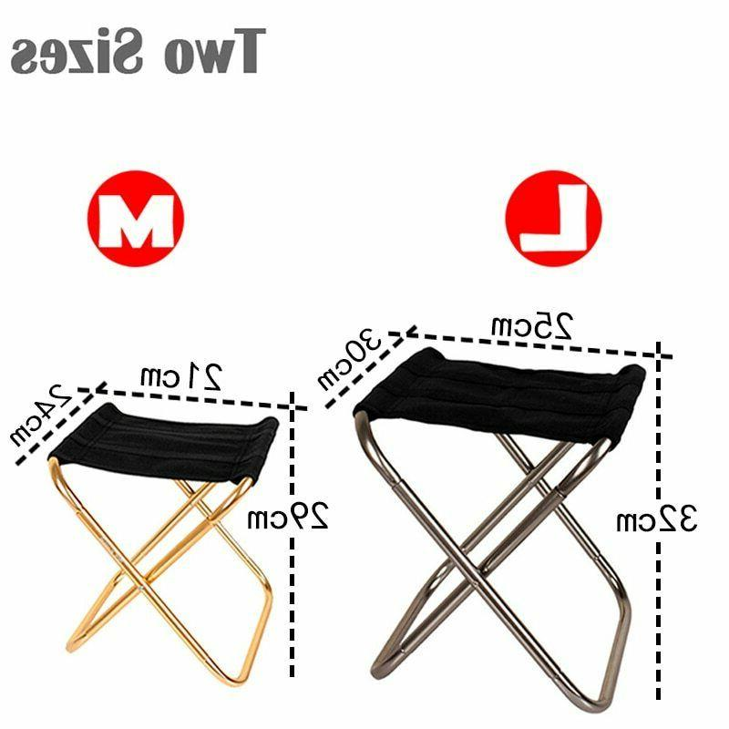Folding Fishing Chair Camping Portable Outdoor Stool Beach P