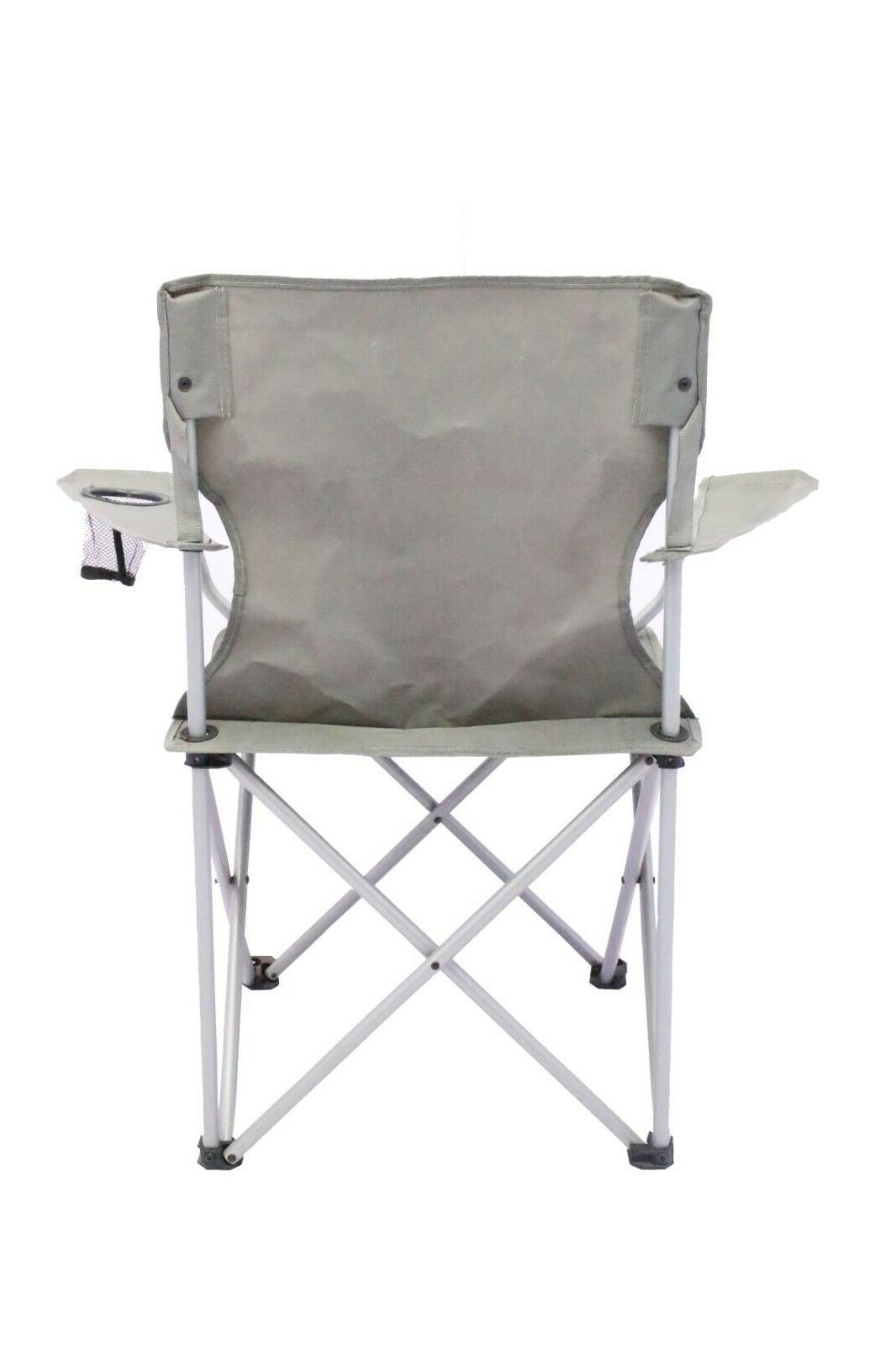 2 Pack Quad Camping Chair One Seat NEW