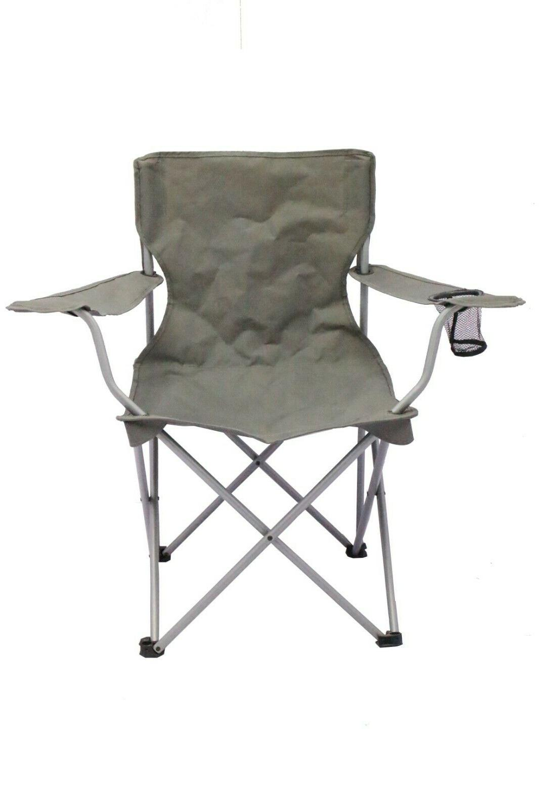 2 Pack Quad Camping One Armrest Outdoor Seat NEW