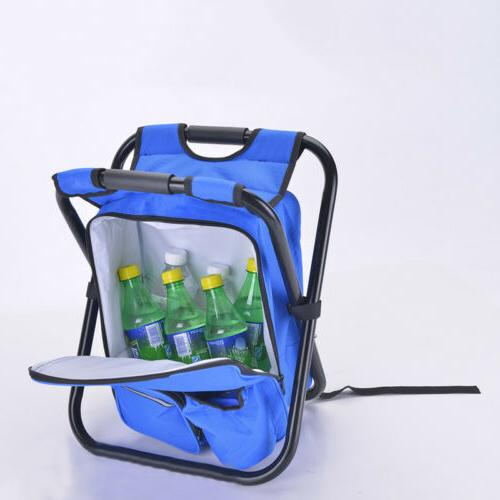 Foldable Chair Stool Travel Backpack Bag