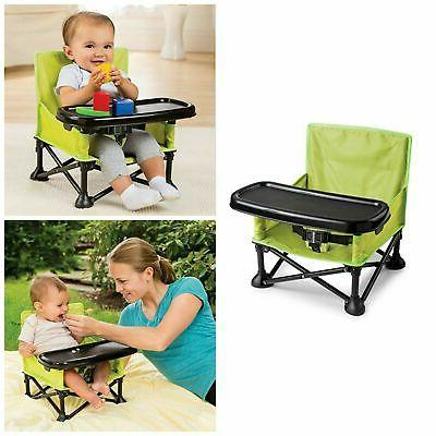 folding baby high chair portable camping infant