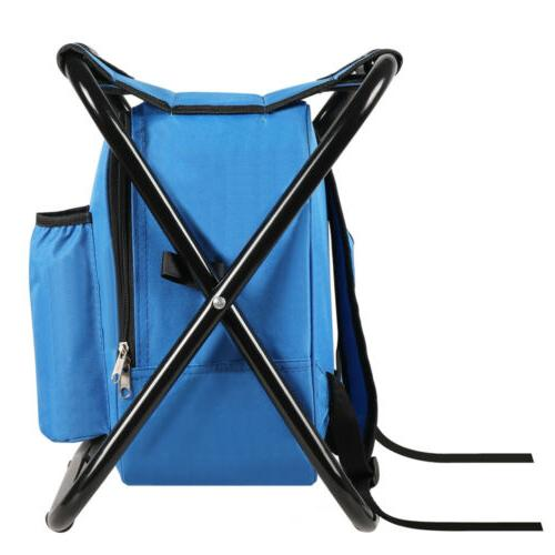 Portable Folding Stool Backpack Bag Outdoor
