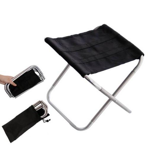 Folding Camping Fishing Stool Ultralight Bag Portable Outdoor